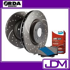 FORD MAVERICK - RDA Rear SLOTTED Discs & BENDIX 4WD PADS