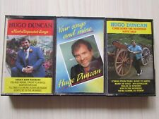 3 X HUGO DUNCAN CASSETTES, 1985/87/90 MADE IN IRELAND TESTED.