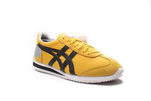 Women's Onitsuka Tiger D437N 0490 Yellow/Black Shoes