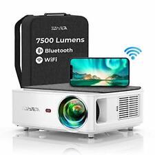 Vidéoprojecteur WiFi Bluetooth Full HD 1080P YABER V6 7500 Lumens Projecteur ...