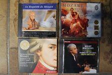 6 cd  MOZART (Quintettes,symphonies,requiem)