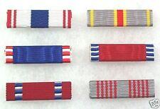 US Army ROTC and JROTC Cadet Medal Ribbons set of 6