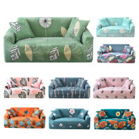 1/2/3/4 New Elastic Stretch Sofa Slipcovers Couch Armchair Cover +1pc Pillowcase