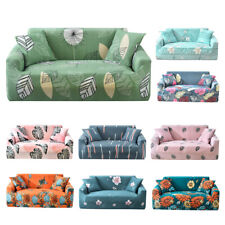 New 1/2/3/4 Elastic Stretch Sofa Slipcovers Couch Armchair Cover+1PCS Pillowcase