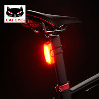 CATEYE Cycling Light Rechargeable USB Warning Tail Light Lamp RAPID X/X3