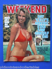 Weekend Magazine - Donald Sutherland, Lynda Carter  12th Aug 1981