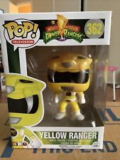 Power Rangers Funko POP! TV Yellow Ranger Vinyl Figure #362