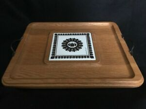 Georges Briard retro cheese board, Mid-Century Modern, vintage, for charcuterie