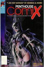 "Penthouse Comix #7 NM May June 1995 ""I Am Not Batman "" comic book size"