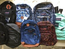Jansport Backpack Book Bag Various Colors and Sizes New Tags