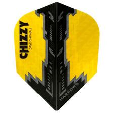 Harrows Dave Chizzy Chisnall Prime Dart Flights - Yellow / Black
