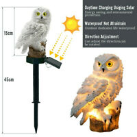 New LED Garden Lights Solar Night Lights Owl Shape Solar-Powered Lawn Lamp Light
