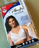 Playtex 18 Hour Original Comfort Strap Wirefree 4693 Choose Color Size