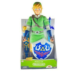 World of Nintendo Zelda Link XXL 50cm große bewegliche Figur NEU & OVP