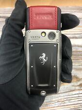 Original Brand Vertu Ascent Ti Ferrari, Unlocked Cellular Phone, Luxury, Stylish
