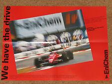 FERRARI 88C F1 POSTER - GERHARD BERGER - 1988 MONZA GP