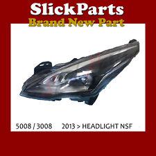 PEUGEOT 3008 / 5008 2013 > XENON HEADLIGHT DRL NSF PASSENGER SIDE *NEW*