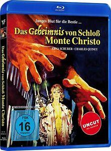 Das Geheimnis von Schloß Monte Christo (inkl. Bonusfilm) [Blu-ray/NEU/OVP]