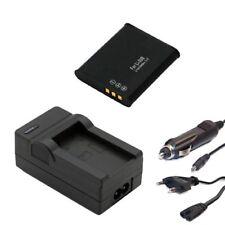 Batería + CARGADOR set para olympus stylus - 9000, sz-10, sz-11, sz-12, sz-14 - accu