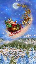 Santa & Reindeer on Christmas Eve-Timeless Treasures-Toys-Kids