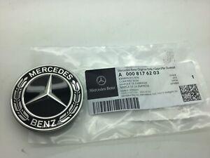 Mercedes Benz A Class W177 CLA Black Badge Bonnet Front Bumper Emblem Genuine