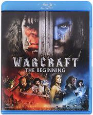 Warcraft: The Beginning (Blu-Ray) ***New & Sealed***