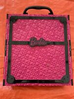 Mattel Barbie Closet / Wardrobe Pink & Black Doll Storage Carry Case 2011 Only
