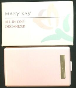 Mary Kay All in One Organizer Travel Storage Makeup Box NIB with Removable Tray
