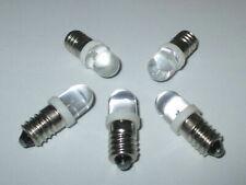 LED Schraubbirne E10 3,5-4,5Volt   5 Stück   --NEU--
