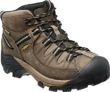 New Keen Mens Shitake Leather Targhee II Mid Hiking Trail Boots Left 8.5 Right 8