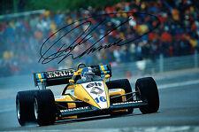 Derek WARWICK Autograph SIGNED 12x8 Photo Formula One 1 Racing Driver AFTAL COA