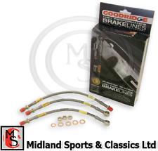 ABK102 - MG MIDGET & AH SPRITE - GOODRIDGE BRAKE HOSE SET - ABK102
