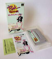 THE PINK PANTHER ★ SFC SNES JPN