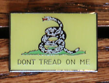 USA America Dont Tread On Me DTOM Flag Gadsden Lapel Pin Patriot great gift