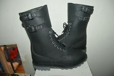 CHAUSSURE BOTTE RANGERS CUIR ARMEE FRANCAISE ARGUEYROLLES TAILLE 46 NEUF 295/112