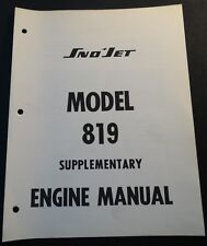 YAMAHA SNOWMOBILE ENGINE MODEL 819 (396 CC)  SERVICE MANUAL SUPPLEMENT (810)