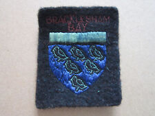 Bracklesham Bay Woven Cloth Patch Badge