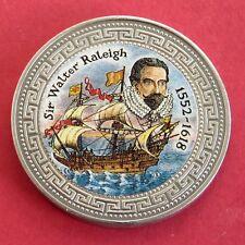 Sir Walter Raleigh 1998 prueba dólar comercial con Color