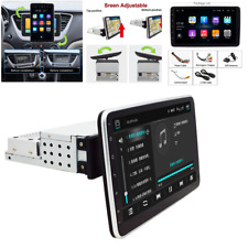 """Single 1Din Android 9.0 10.1"""" 1080P Car Player Stereo Radio GPS Wifi Quad -Core"""