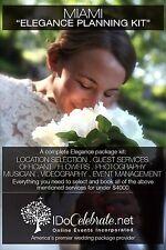 I Do Celebrate Miami Wedding Ceremony Kit - Elegance Package