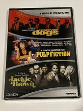 Quentin Tarantino Triple Feature Dvd Pulp Fiction, Reservoir Dogs, Jackie Brown
