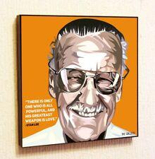Stan Lee Marvel Comics Painting Print Wall Art Poster Canvas Decor