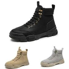 Winter Mens High Top Work Ankle Boots Shoes Fur Inside Warm Outdoor Walking 44 D