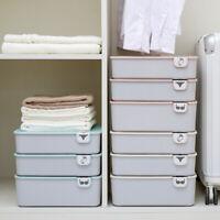 Underwear Bra Socks Ties Organizer Box Bikini Storage Drawer Divider Closet Hot