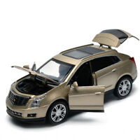 Cadillac SRX SUV 1:32 Metal Diecast Model Car Toy Sound&Light Collections Gift