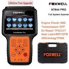 FOXWELL NT644 Automaster OBD2 Scanner Diagnostic EPB DPF TPB BRT SAS TPMS Reset