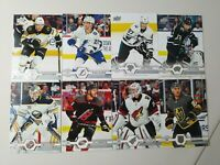 2019-20 SP Authentic Update All-Star + Base Lot of 8 Crosby Pastrnak Atkinson ++