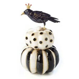 MacKenzie-Childs Handcrafted Small Crowpiary Halloween Decor Fall Collection