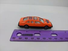 "Greenbrier Intl Orange Race Car #38 1:64 3"" Long *Played with*"
