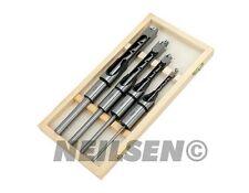 4pc bois carré bois Auger drill bit set 6mm 10mm 13mm 16mm en cas en bois
